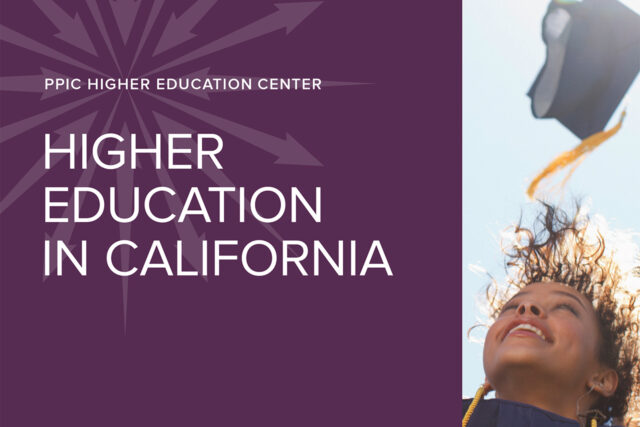 Cover photo of Higher Education in California: 2017 Update