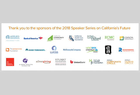 Image of 2018 PPIC Speaker Series Sponsors