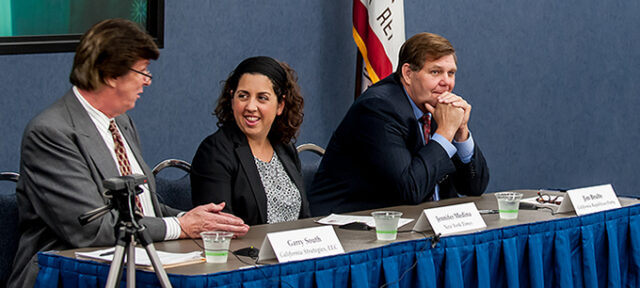 photo - California Politics and the Future Panel