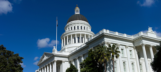 photo - The California State Capitol in downtown Sacramento, California Department of Water Resources