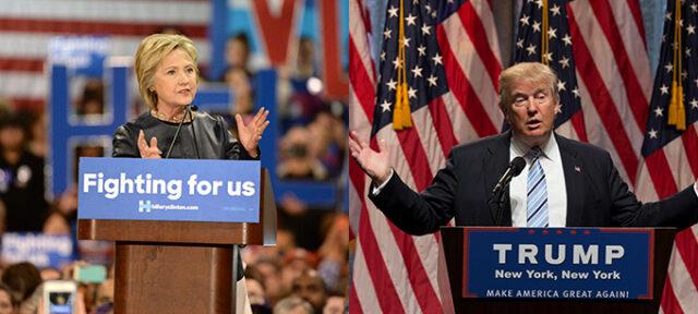 Clinton Trump Blog Banner