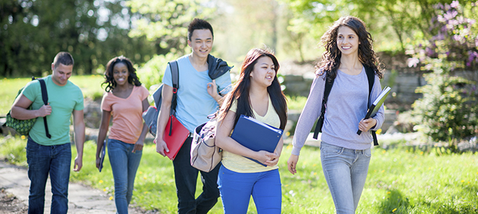 photo - Diverse Students on Campus