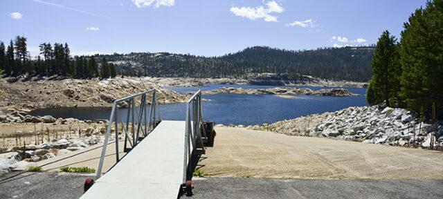 Drought Reservoir Boat Ramp