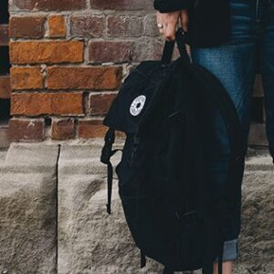 photo - Event Page Image Holding Backpack