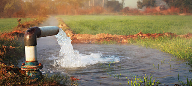 Irrigation With Tube Well (Irrigation Equipment)