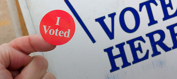 photo - I Voted Sticker