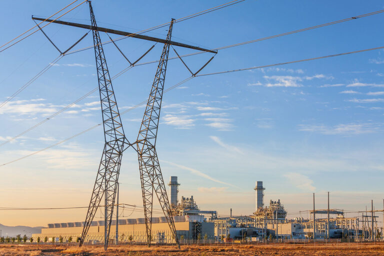 photo - Natural Gas Fired Electrical Power Plant