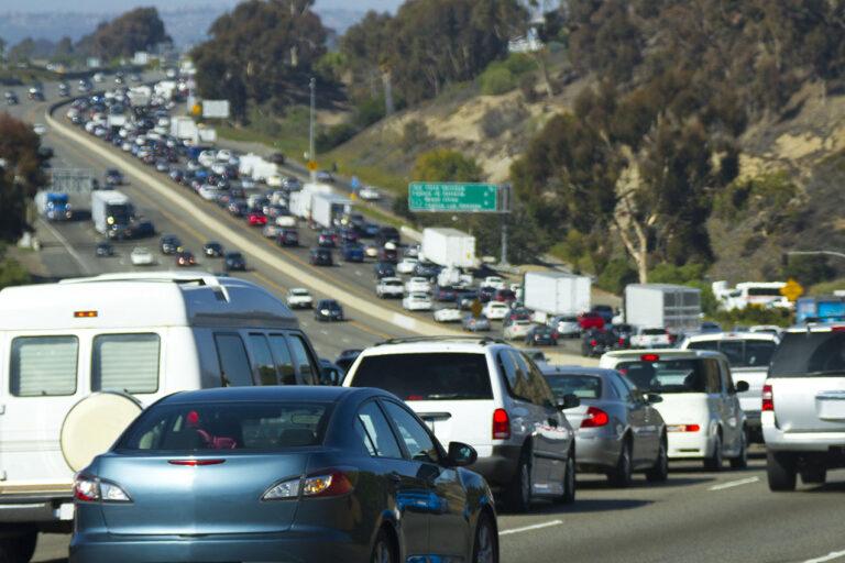 photo - traffic jam