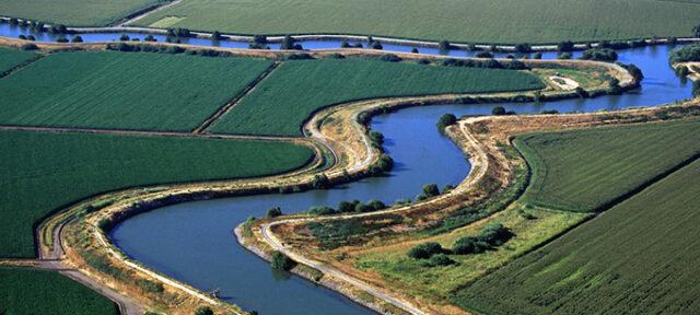 photo - Aerial view of the Sacramento-San Joaquin Delta