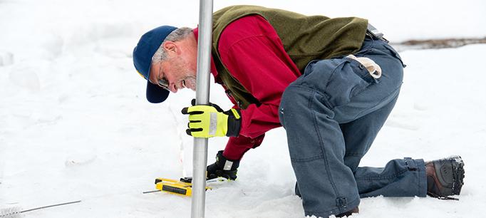 photo - Snow Survey