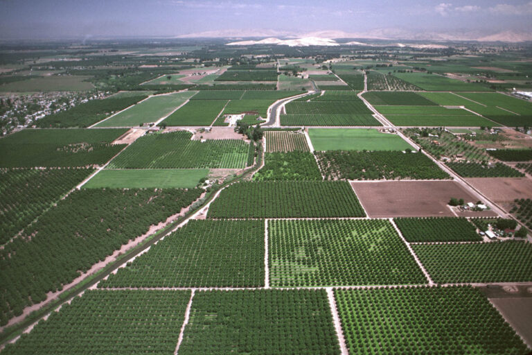 photo - Aerial View of the San Joaquin Valley