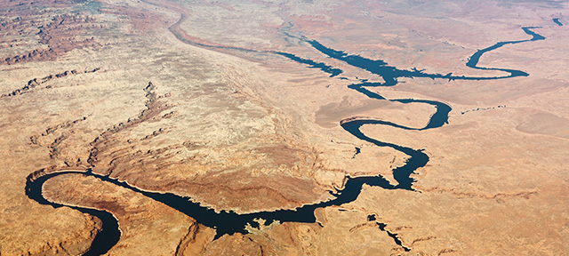 Ariel View Colorado River