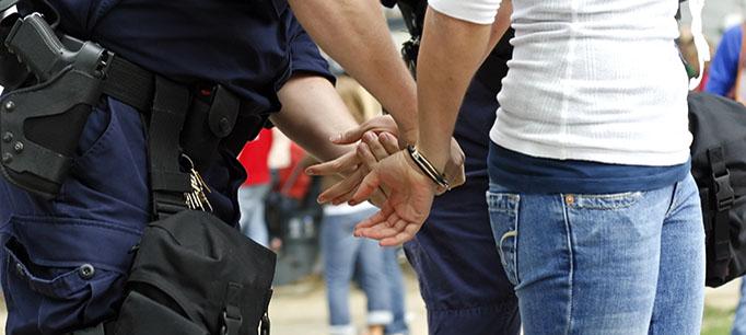 photo - Arrest of a Woman