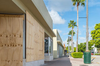 photo - Boarded Up Business