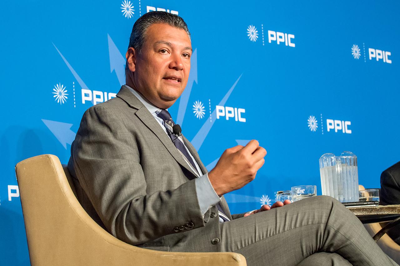 Photo of Secretary Alex Padilla