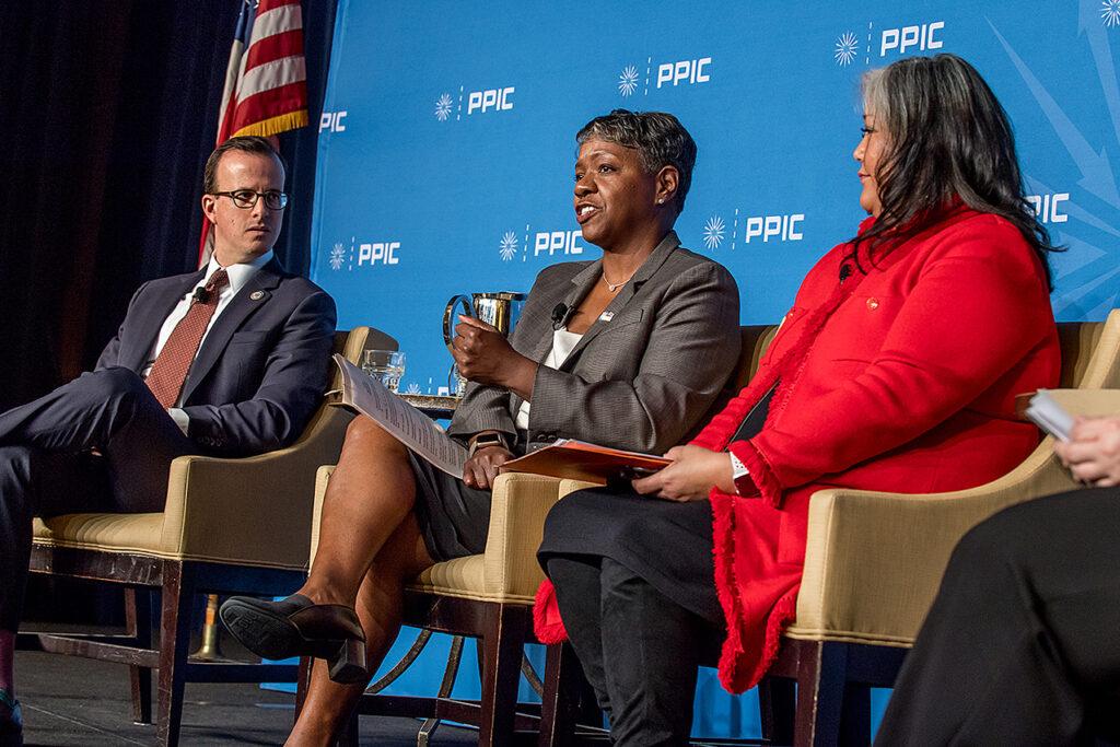 Photo of Marc Berman, Carolyn Coleman, Ditas Katague