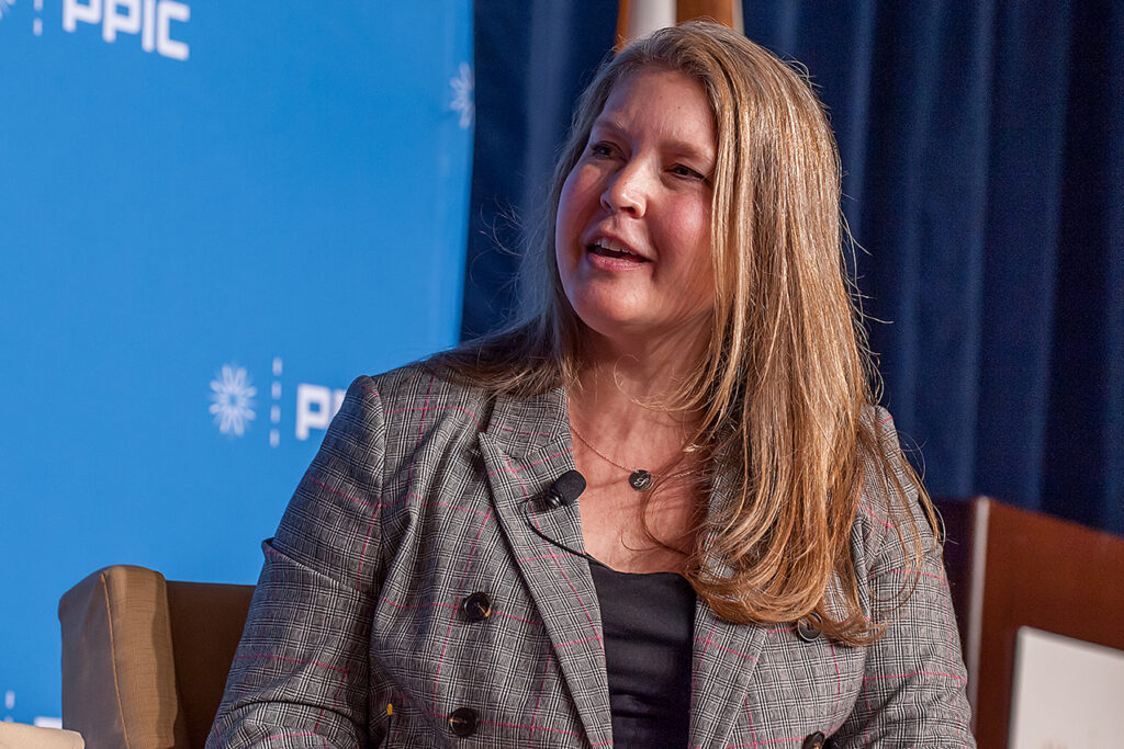 Photo of Sarah Bohn, Vice President of Research, PPIC