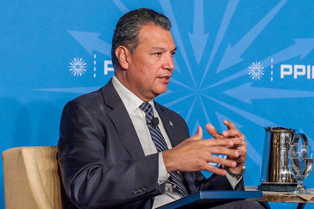 Photo of California Secretary of State, Alex Padilla