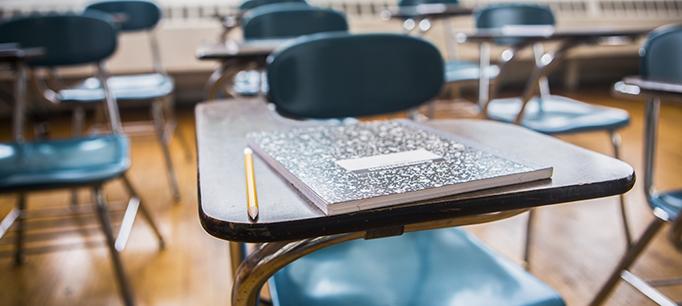 School Desks In A Classroom - Public Policy Institute of ...