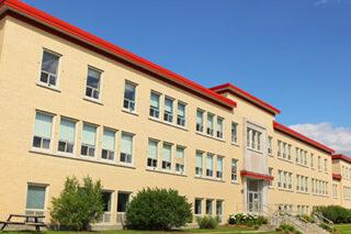 photo - Closed School Building Exterior