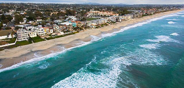 image - Coastline of Carlsbad, California