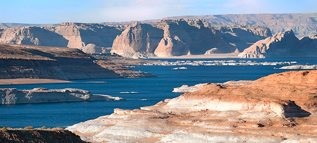 Photo of the Colorado River at Lake Powell