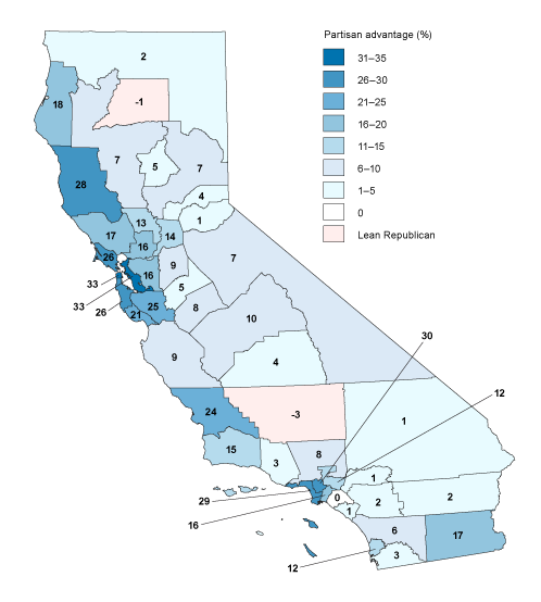 Newman California Map.California S Political Geography Public Policy Institute Of California