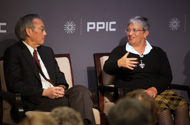 Steven Chu and Mary Nichols