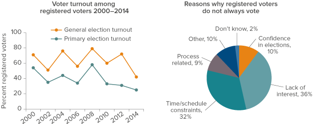 Figure 2: Voter turnout