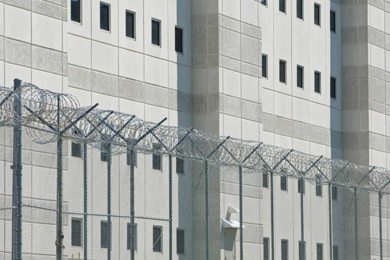 photo - County Jail Prison and Fence