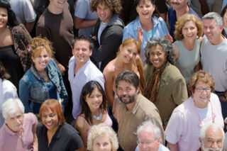 photo - Crowd of Diverse People
