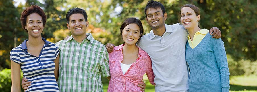 photo-diverse young adults