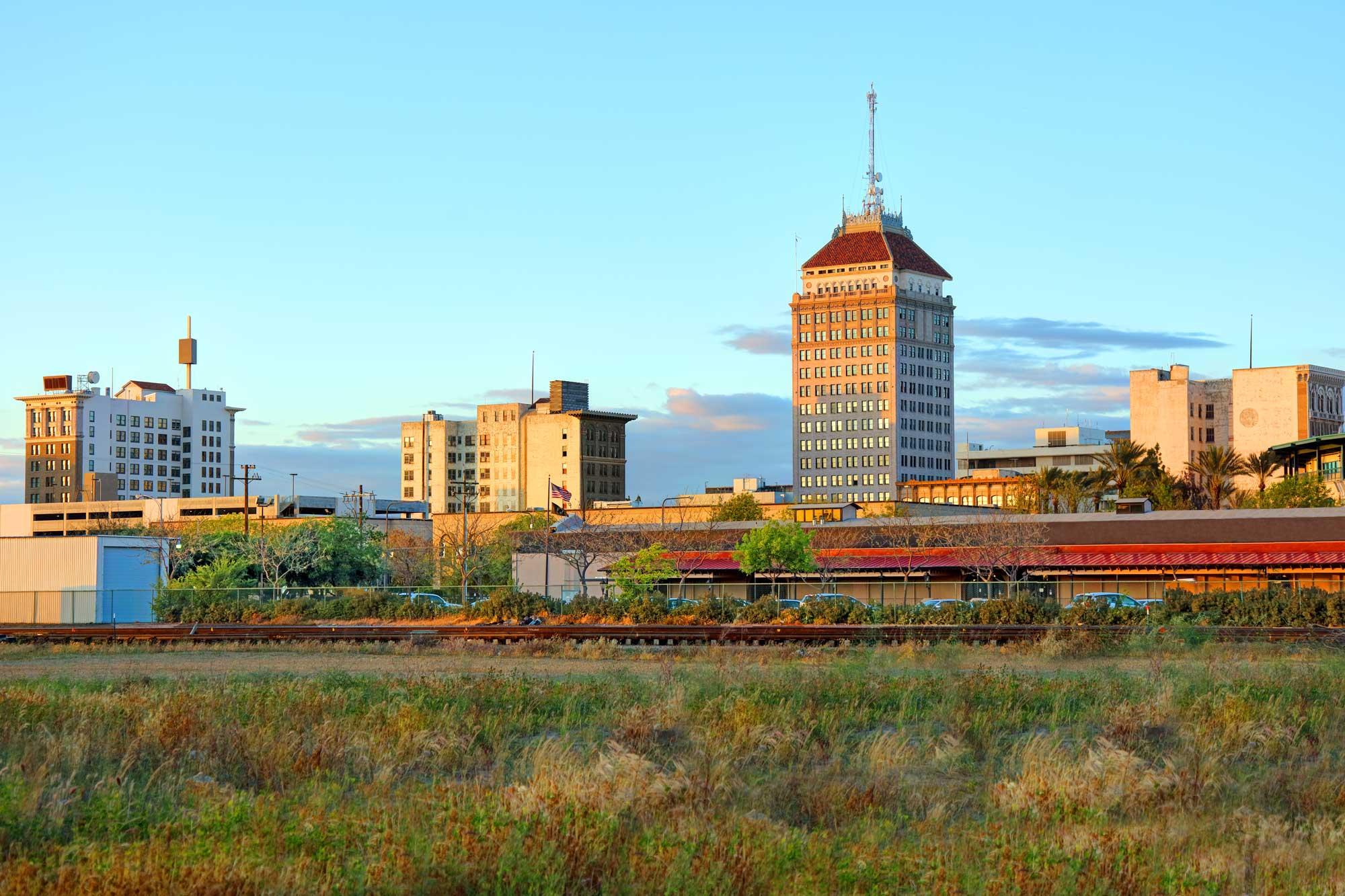 photo - Downtown Skyline Fresno, California