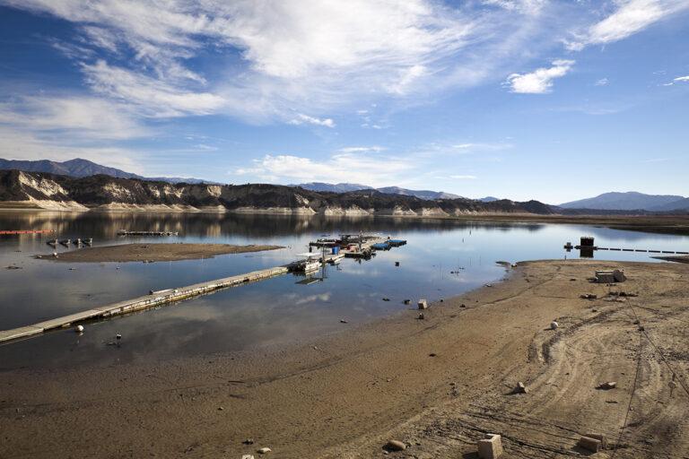 Photo of California Lake Drought