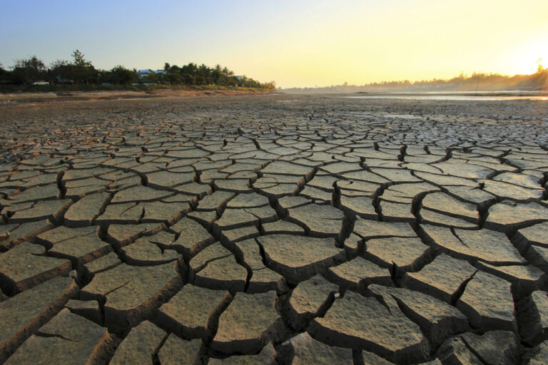 photo - Drought Dry Cracked Terrain