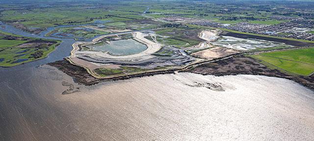 photo - Dutch Slough Tidal Marsh Restoration Project Aerial View