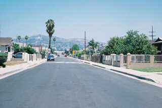 photo - Emplty Residential Street in Los Angeles