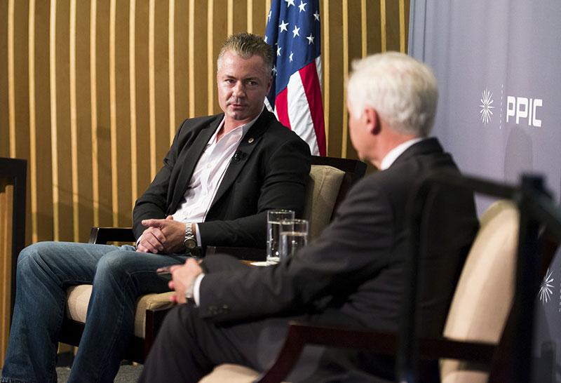 Travis Allen and Mark Baldassare