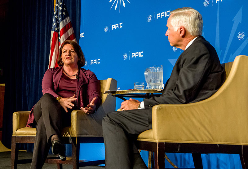 Toni Atkins, President pro Tem, California State Senate and Mark Baldassare, President and CEO, PPIC