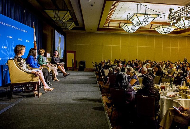 Women In California's Legistature: Panel And Audience