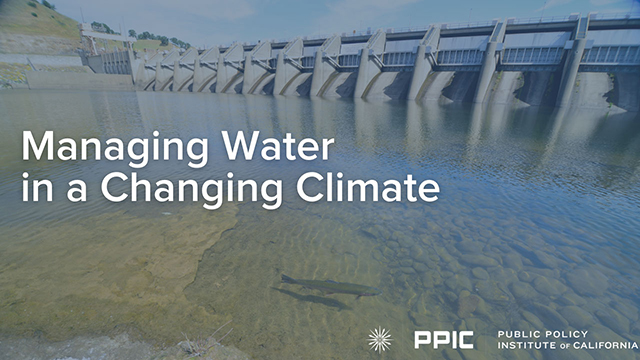 video image - Managing Water in a Changing Climate
