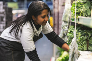 photo - Grocery Store Worker