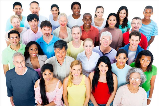 photo of multiethnic group of people