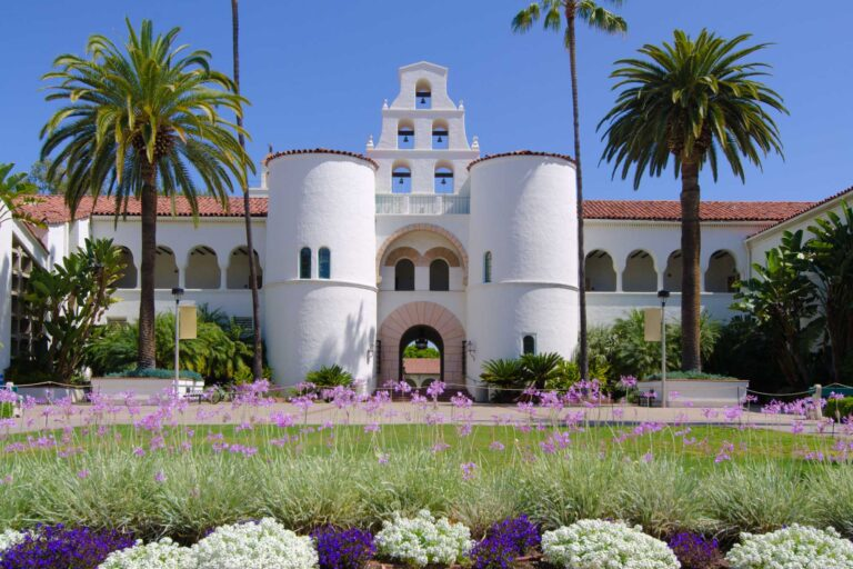 photo - Hepner Hall at San Diego State University
