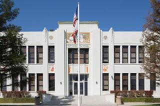photo - High School Main Entrance