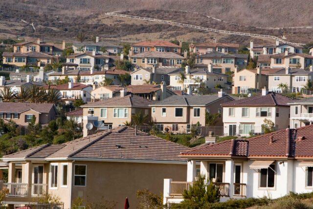 photo - Houses in Orange County, California
