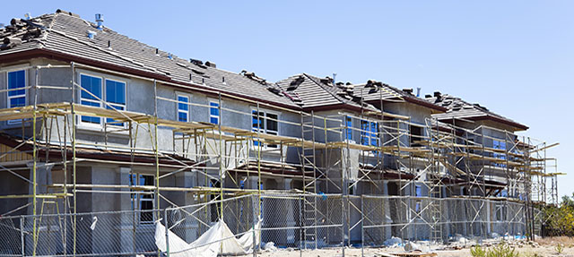 photo - Housing Complex Under Construction