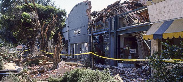 photo - Loma Prieta 1989 Earthquake Damage