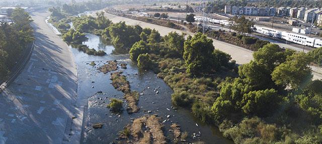 photo - Los Angeles River