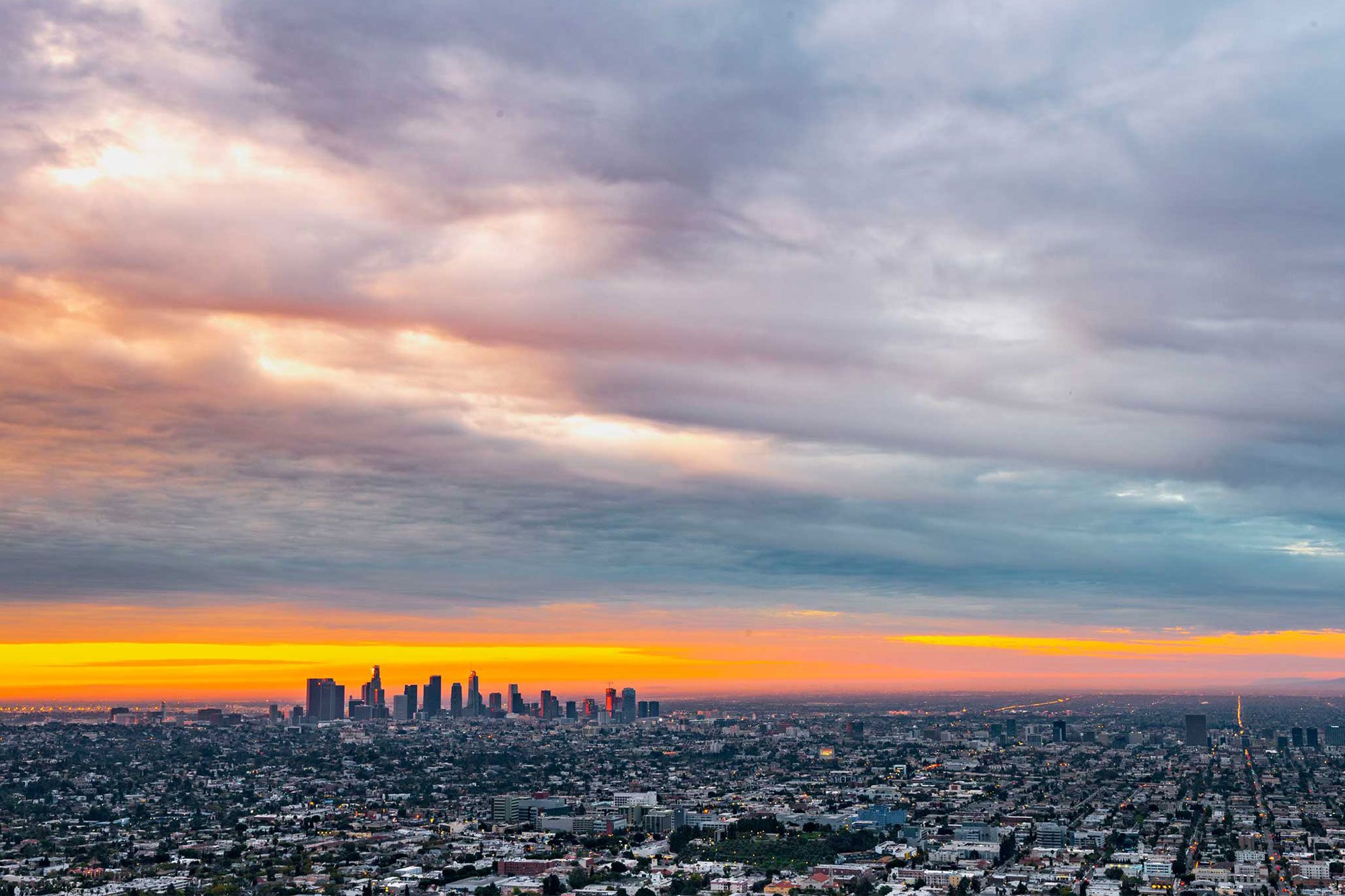 photo - Los Angeles Skyline at Dawn